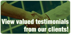 What our clients say matters. Take a look!